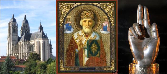 19 декабря 2019 - Божественная Литургия у мощей свт. Николая (в Сен-Николя де Пор)